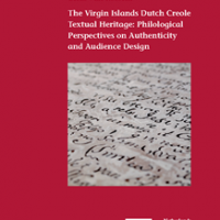 Rossem forside  the virgin islands dutch creole textual heritage philological perspectives on authenticity and audie 328