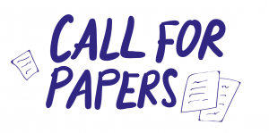 Call for papers blå skrift og papir b