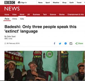 badeshi bbc