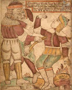 SÁM 66 75v death of Baldr