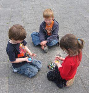 Children marbles