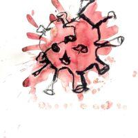 corona tegning til signe