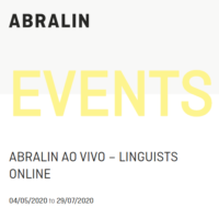 ABRALIN EVENTS